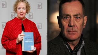 Lucy Ellmann and David Wilson