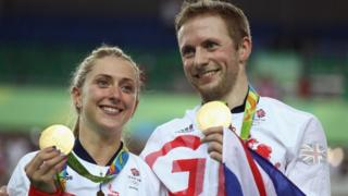 Laura Trott e Jason Kenny