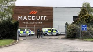 Macduff Shellfish premises in Mintlaw