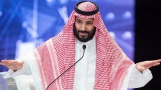 सऊदी अरब के क्राउन प्रिंस मोहम्मद बिन-सलमान