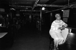 Theresa Needham, 70, proprietor of the legendary Theresa's Tavern at 4801 South Indiana Avenue
