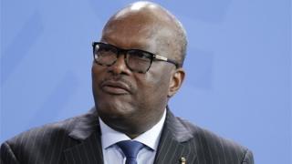 Roch Marc Christian Kaboré, le président du Burkina Faso