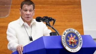 Mr Duterte gave a state of the nation address earlier this week, before his latest comments