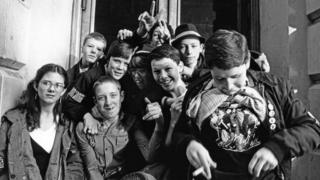 Young ska fans in Coventry in 1980