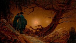 《男女賞月》