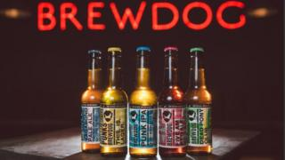 BrewDog screen grab