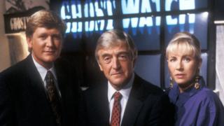 Mike Smike, Michael Parkinson, Sarah Greene