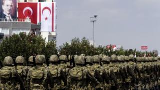 Kuzey Kıbrıs'taki Türk askerler