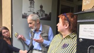 Ольга Романова и Сергей Шаров-Делоне