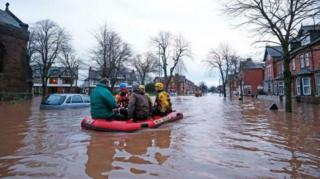 Наводнение в Британии