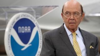 Wilbur Ross attends the NOAA's 2019 Hurricane Season Outlook briefing