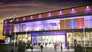 An artist's impression of the new development of the Odyssey Pavilion