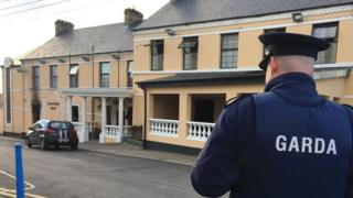 Fire at the Caiseal Mara Hotel in Moville