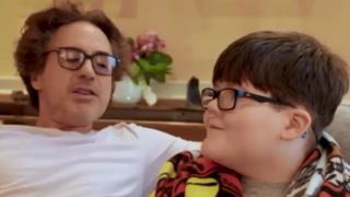 Robert Downey Jr and Aaron Hunter