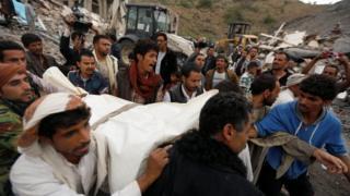 ضربة جوية في صنعاء