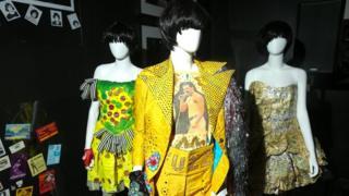 Karen O's stage costumes