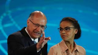 Alckmin e Marina