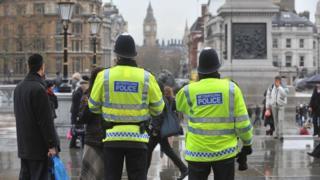 лондонские полицейские