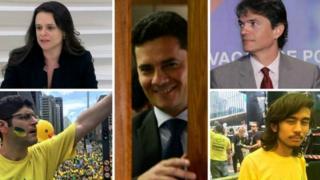 Sérgio Moro, Janaina Paschoal e Kim Kataguiri estão entre os protagonistas do impeachment