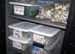 Steroids seized in the raids