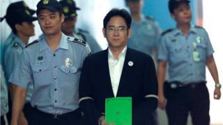 Ли Чжэ Ён в суде
