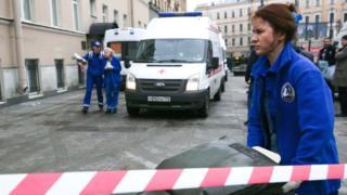 Взрыв в метро Санкт-Петербурга, спасательная операция.
