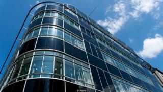 El edificio Streamlined Moderne
