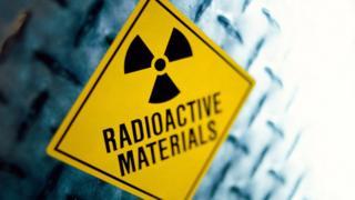 Знак радиоактивной опасности