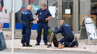 Şüpheli polis tarafından vurularak yaralandı