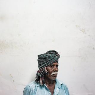 A portrait of Karpule, a farmer from Tamil Nadu