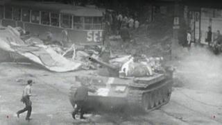 Tank in Prague