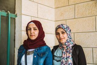 Sisters Salwa and Salam