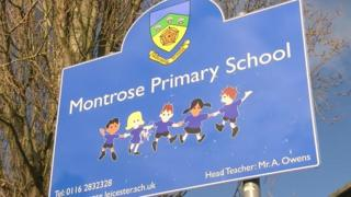 Montrose Primary School in Leicester