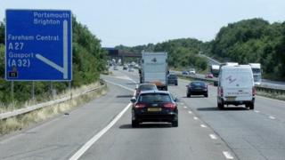 M27, junction 11 (Fareham)