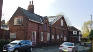 Former drill hall in Bath Street, Warrington