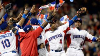 Jugadores de República Dominicana.