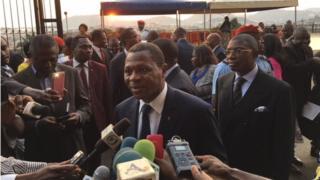 Paul Atanga Nji, Minister of Territorial Administration for Cameroon