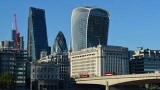 Лондонские небоскребы