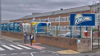 Allied Bakery factory in Cardiff