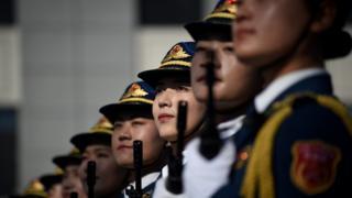 Парад в Пекине 1 октября 2019 года