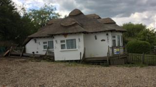 Sinking cottage