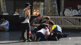 बार्सिलोना हमला