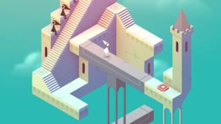 Image from the mobile phone game Monument Valley