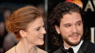 Rose Leslie and Kit Harriton