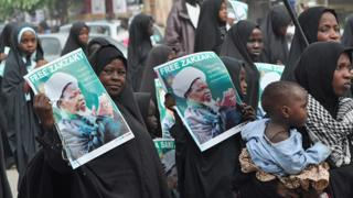 Members of Shia sect in Nigeria