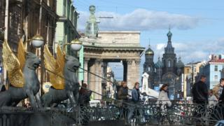 You can stumble across monuments, churches, and museums in St Petersburg or take refuge in the quiet green squares