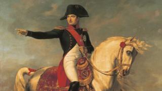 Портрет Наполеона кисти Жозефа Шабо, 1810 год