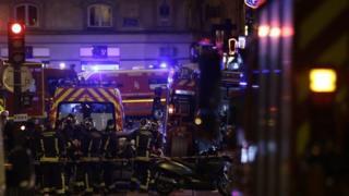 صورة لهجمات باريس
