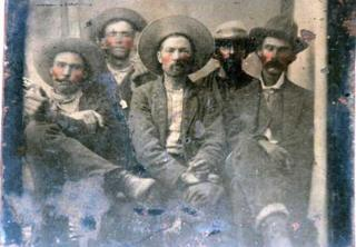 Billy the Kid and his crew