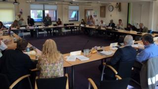 West Somerset Council meeting
